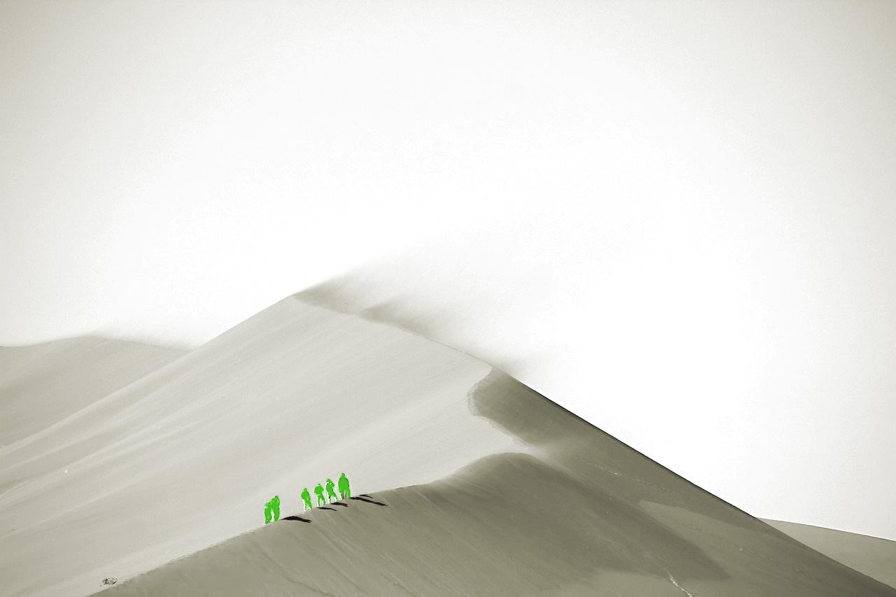Désert, dunes